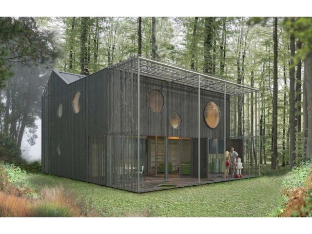 Maison bas carbone Antonini + Darmon