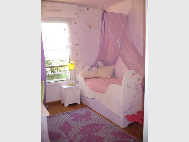 Chambre de Camille - Après - reportage - chambre d'enfant - Fée d'Hiver