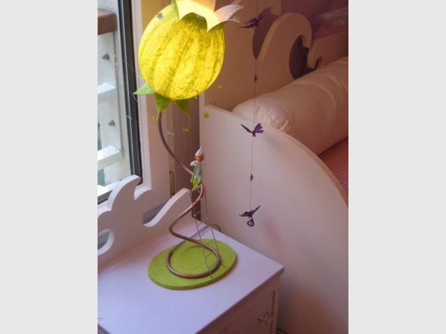 Table de chevet - reportage - chambre d'enfant - Fée d'Hiver