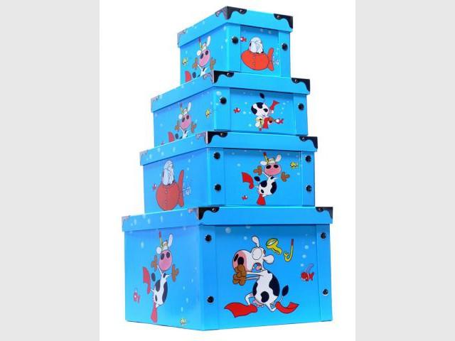 Boîtes de rangement