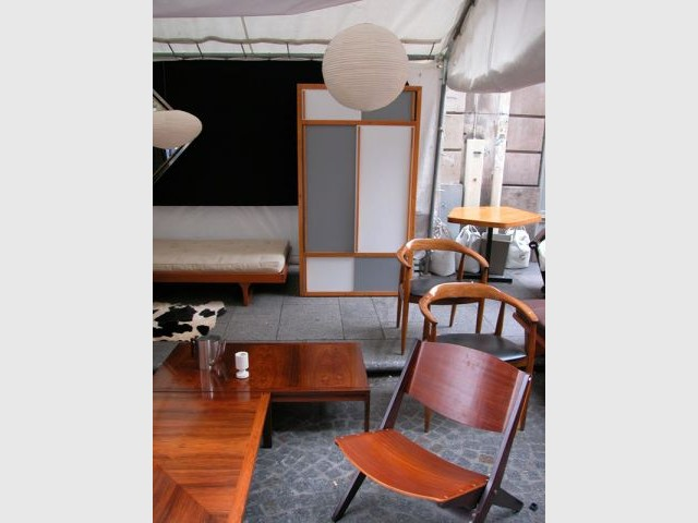 Mobilier belge - Puces du Design