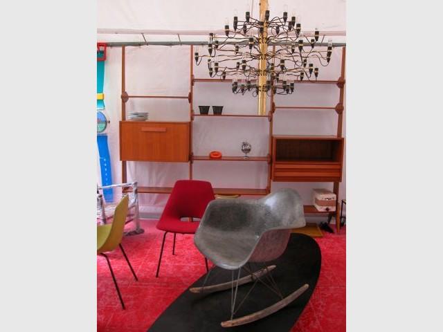 Chaise à bascule Eames - Puces du Design