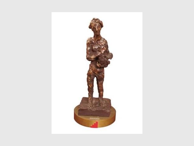 Sculpture - Vente aux enchères Philippe Noiret -  Rémy Founié