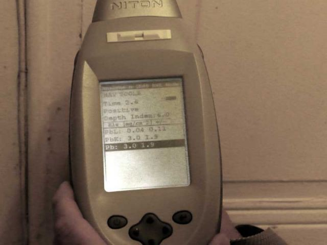 Informations contenues dans l'appareil - CREP diagnostic plomb