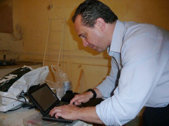 Saisie des données informatiques - Diagnostic immobiliers reportage