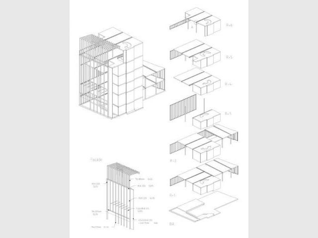 Structure en bois - maison14