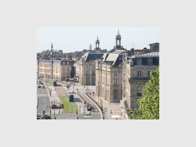 Bordeaux tramway immobilier immeubles