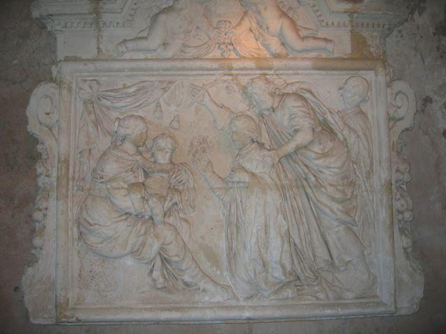 Le retable - Prieuré de Saint-Cosme