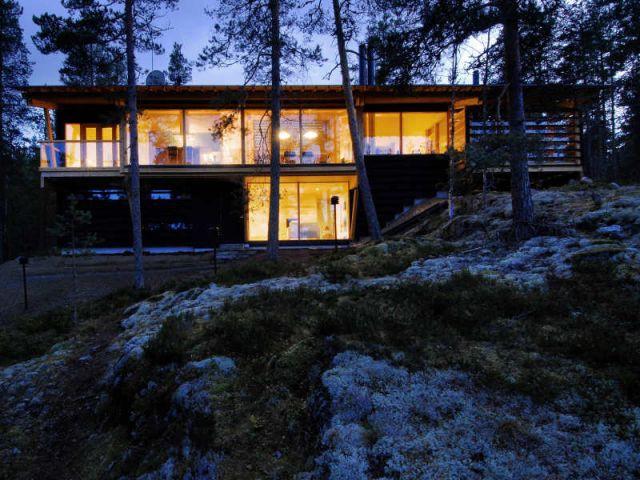 Villa Nuotta - Exposition Architecture Finlandaise - Cité de l'architecture et du patrimoine