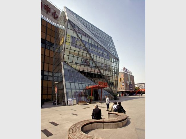Qingpu - Dans la ville Chinoise - Exposition Chaillot