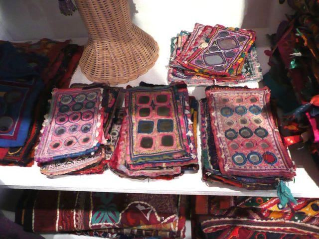 Pièces de tissu colorées - Zen Ethic
