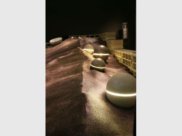Parcours lumineux - Le béton, matière de luxe