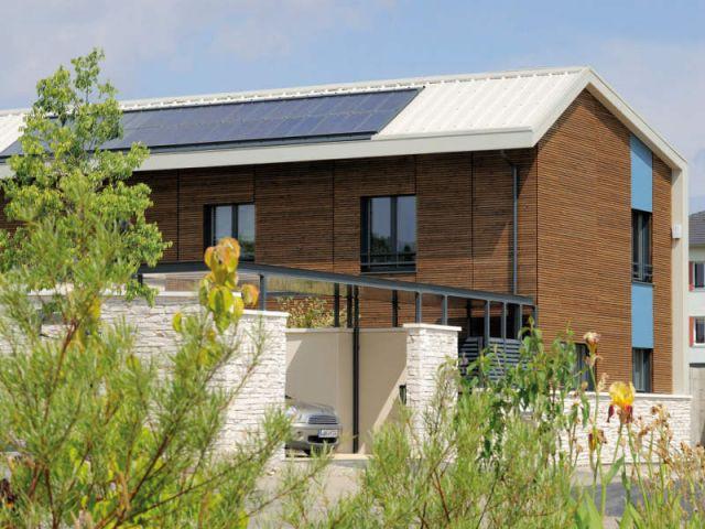 Maison témoin - programme immobilier de 31 maisons passives - Groupe MCP Promotion