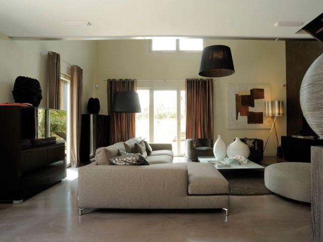 Salon 1/2 - programme immobilier de 31 maisons passives - Groupe MCP Promotion