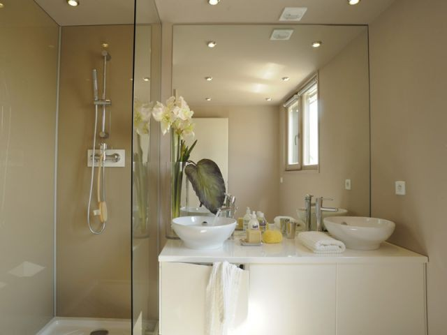 Salle de bain - programme immobilier de 31 maisons passives - Groupe MCP Promotion