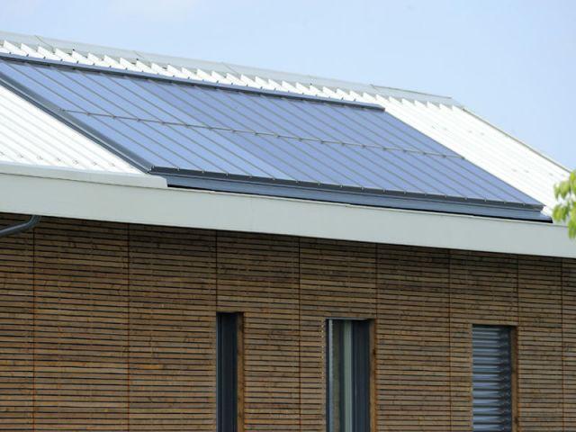 Panneaux solaires - programme immobilier de 31 maisons passives - Groupe MCP Promotion