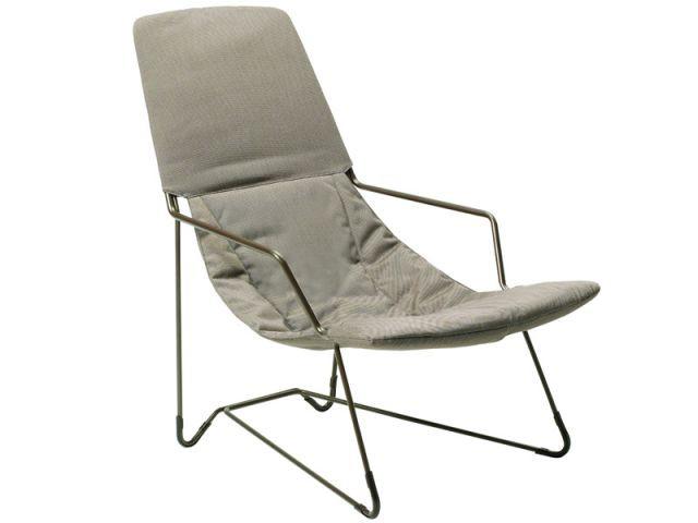 En acier - Chaise longue