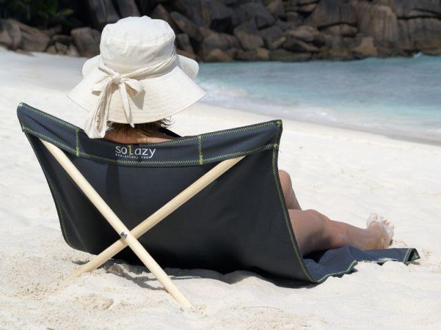 Pour la plage... - Chaise longue