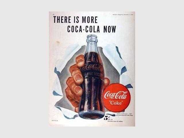Coca-cola - bouteille contour
