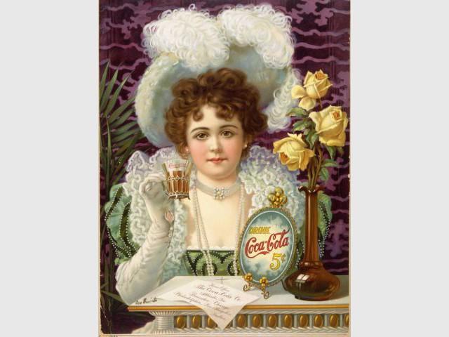 Coca-cola - affiche 1890