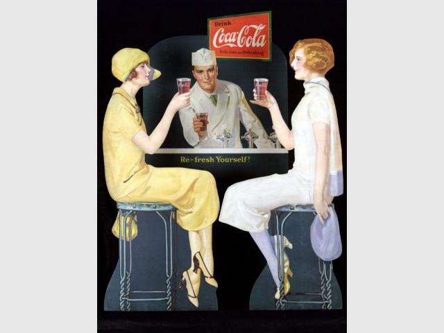 Coca-cola - affiche 1925