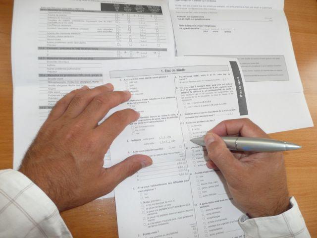 questionnaire assurance emprunteur