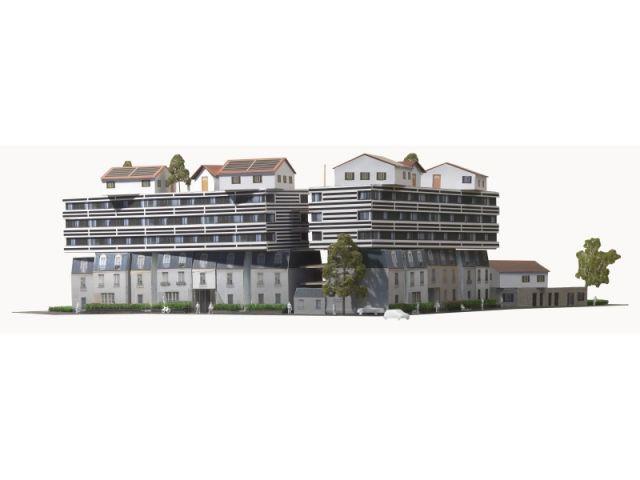 114 logements, Champigny (94) Édouard François-OAL