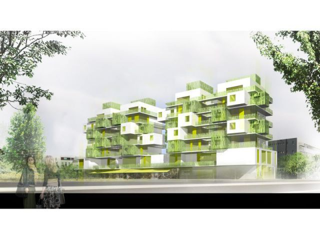 28 logements, Courbevoie (92) KOZ Architectes