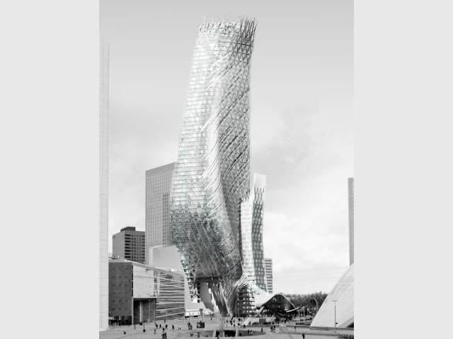 Tour PHARE, La Défense (92) mOrphosis - Thom Mayne