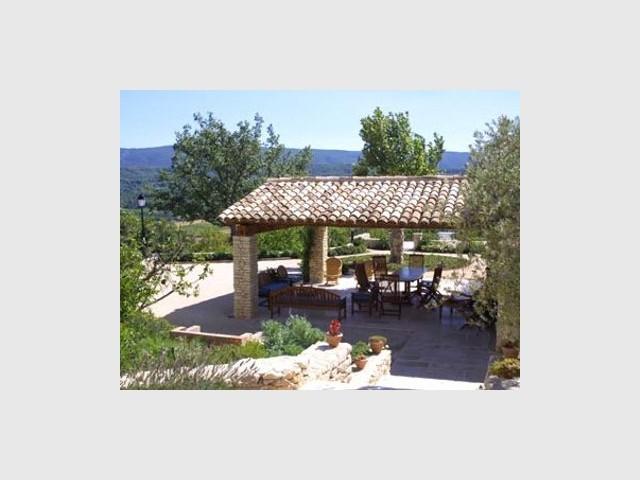 Auvent - Mas Provençal - Andrew Nelson
