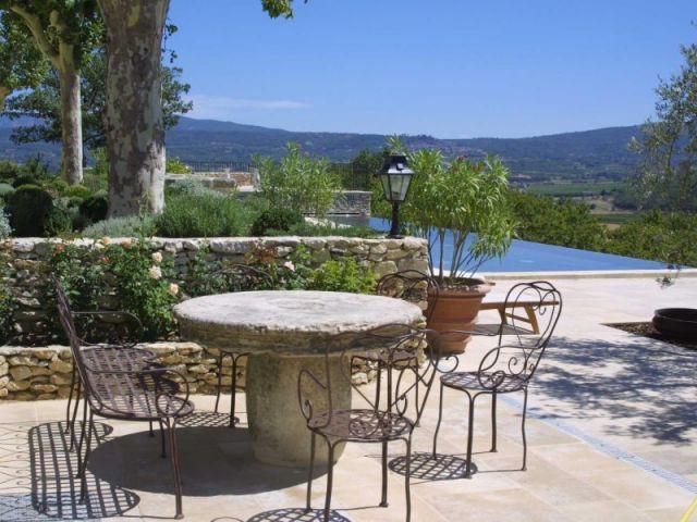 Terrasse - Mas Provençal - Andrew Nelson