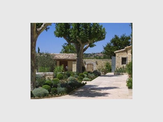 Jardin - Mas Provençal - Andrew Nelson