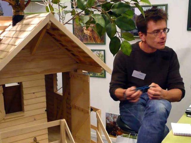 Franck Coursier - constructeur cabanes