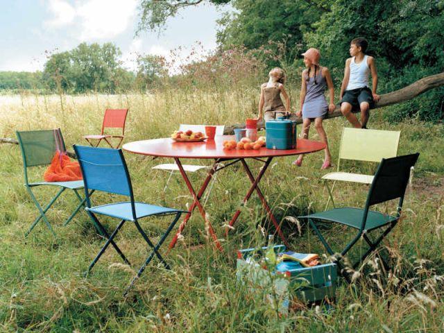 shopping tables de jardin - Fermob