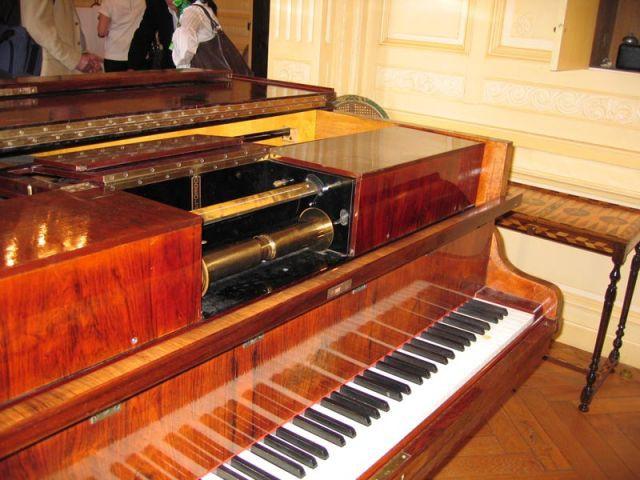 Le piano - Château de Candé