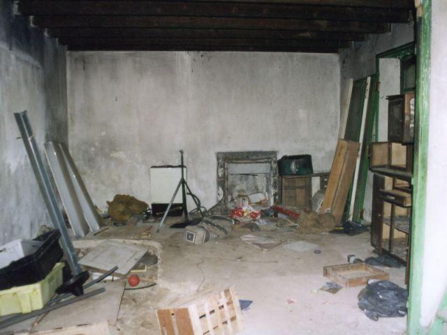 Rez-de-chaussée avant travaux - Reportage maison Bretagne - Morbihan - Rénovation