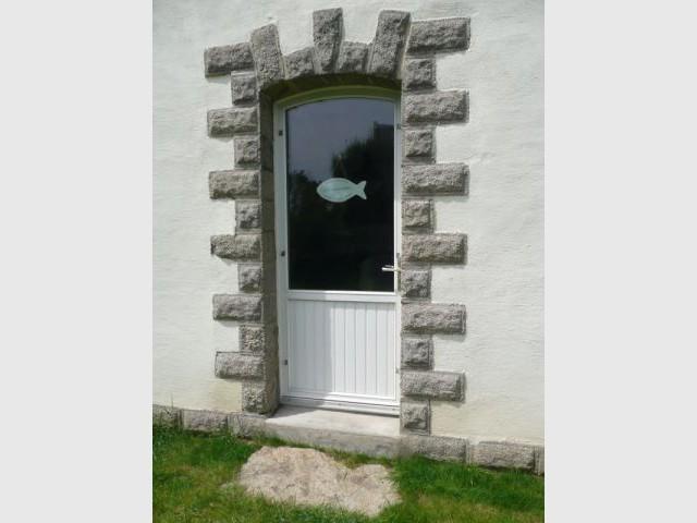 Porte d'entrée - Reportage maison Bretagne - Morbihan - Rénovation