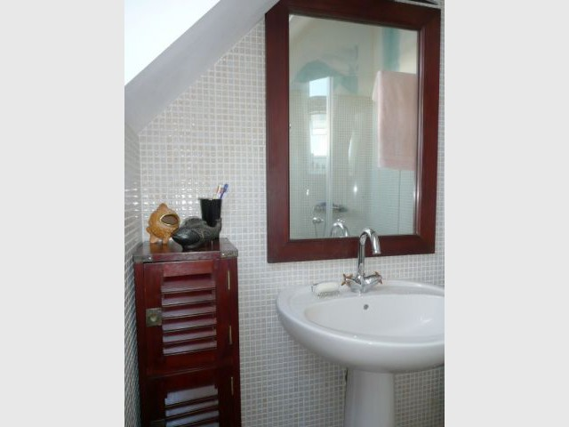 Salle de bain - Reportage maison Bretagne - Morbihan - Rénovation