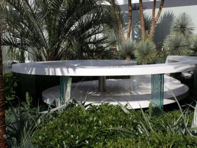 Point de repos - Jardin de Corian
