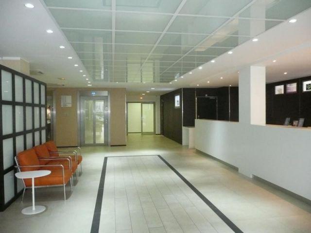 Hall d'entrée de l'hôtel Holiday Inn