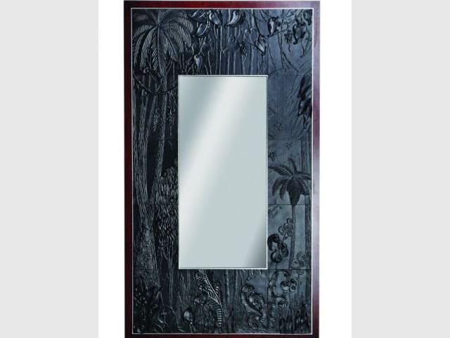 Exposition Jean Boggio - Miroir Jardin extraordianaire - Porcelaine et bois