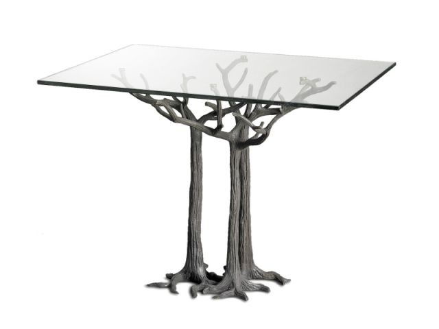 Exposition Jean Boggio - Table en verre jardin extraordinaire