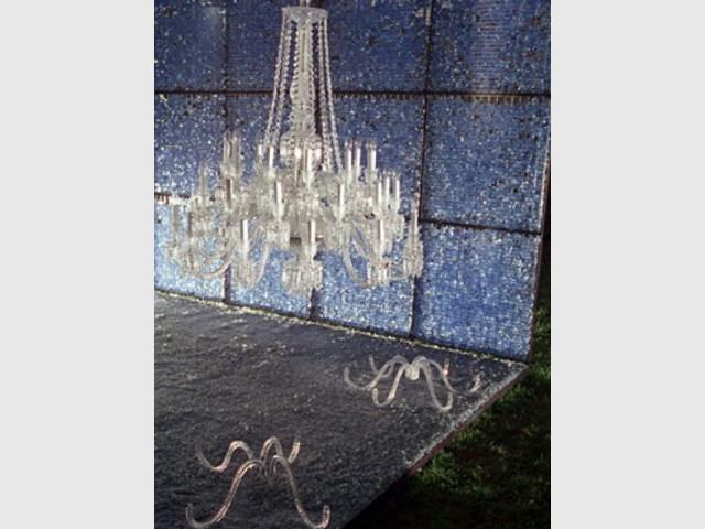 Lustre - Jardin de cristal