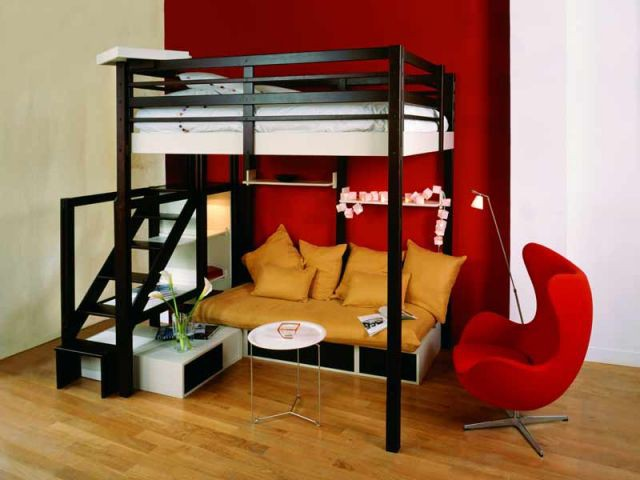 Mezzanine pour plafond standard