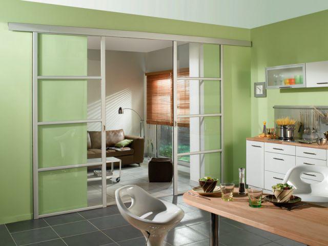 En vitre transparente - Cloisons amovibles