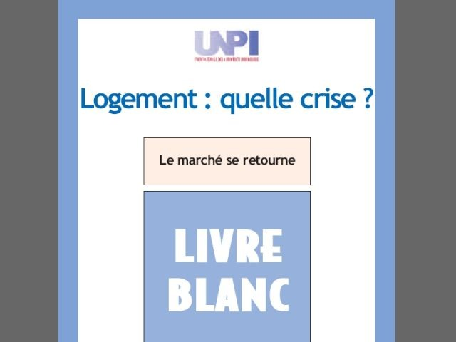 Livre Blanc 2008 - UNPI
