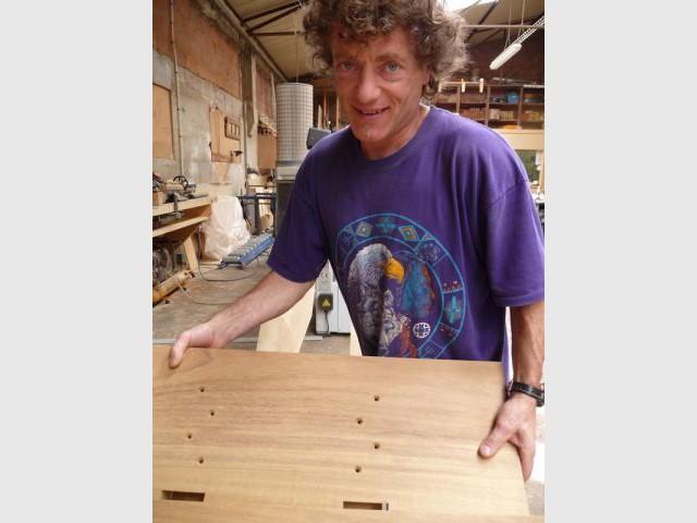 Le charpentier Pierre Sarrasin