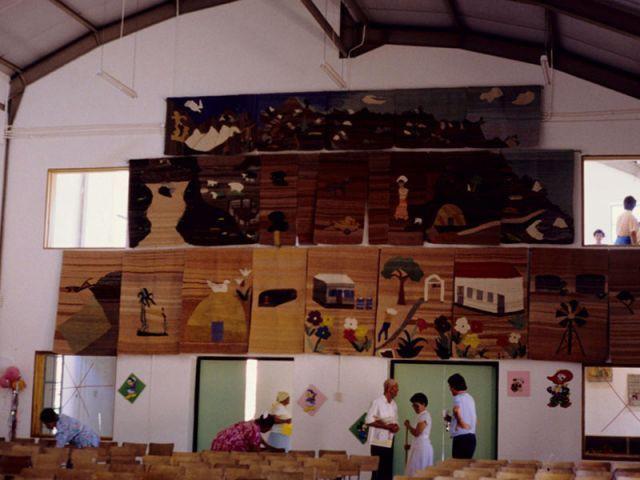 Centre communautaire Eerste Treetjies de Kommagas, Namaqualand, Northern Cape (Afrique du Sud), 1990 - carin smuts