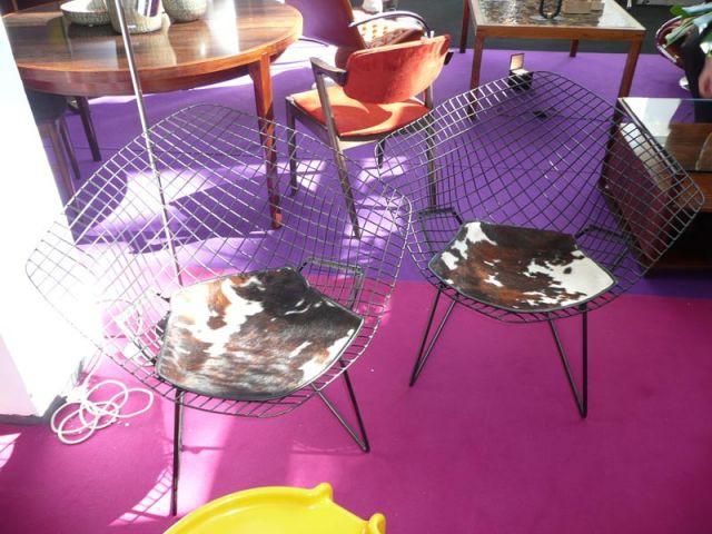 Chaise vachette - Salon du Vintage