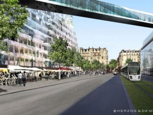 Rue Ernest Renan - triangle